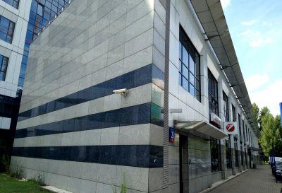 Bank PKO , Remont częściowy dachu rok.2009 Warszawa ul.Towarowa