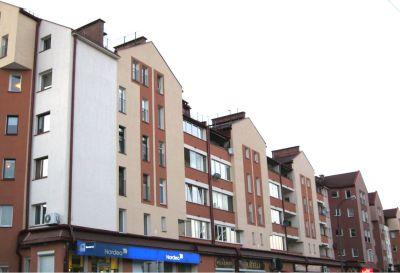 Kompleksowe wykonanie elewacji bloków mieszkalnych 2012 warszawa ul. Nałęczowska