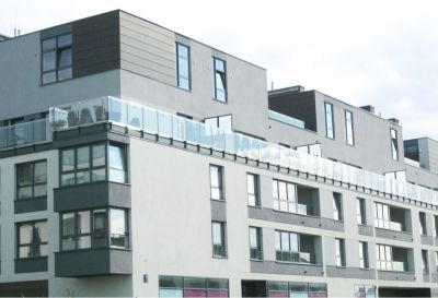 Kompleksowe wykonanie elewacji bloku mieszkalnego 2010 warszawa ul. Branickiego