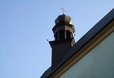 Pokrycie z miedzi kopuły w technologi karo oraz podwójnego rąbka stojącego Kośćioł w Krakowie rok 2006