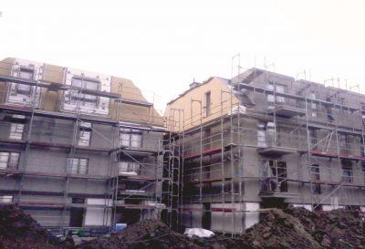 Ul. Okrzei 1, Wrocław 2012r – Zespół budynków wielorodzinnych pow. 650m2 Wykonanie obróbek blacharskich na szczytach dachu